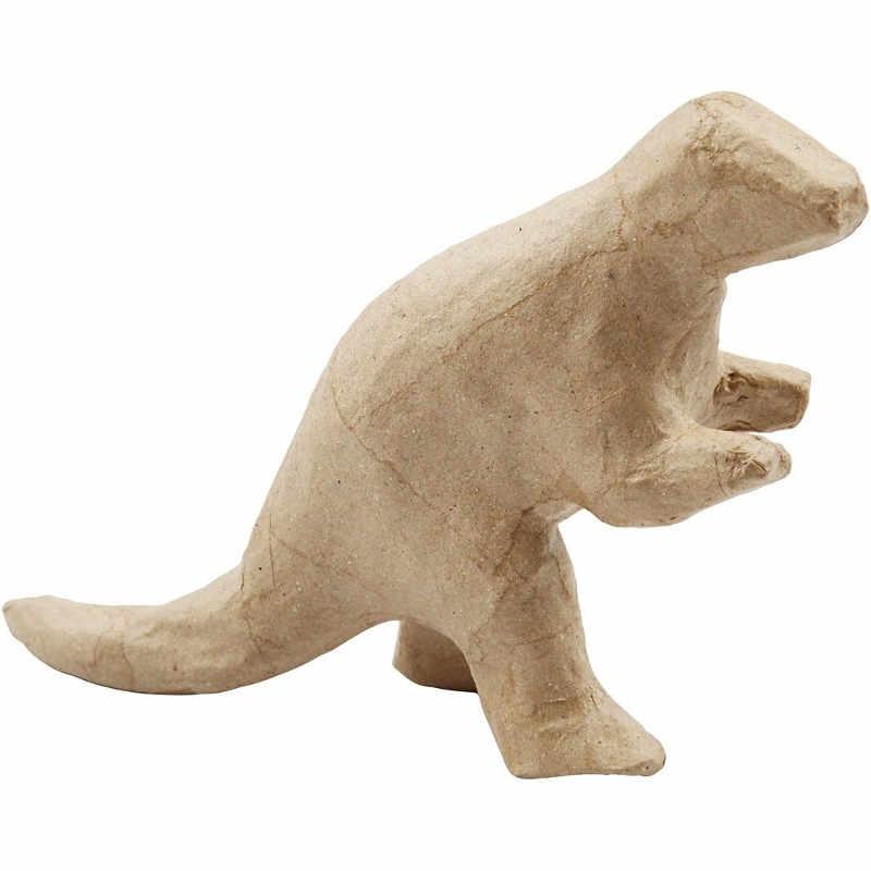 Dinosaurie papier-maché 3 olika