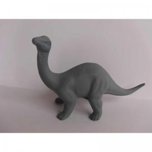 Dinosaurie keramik grå