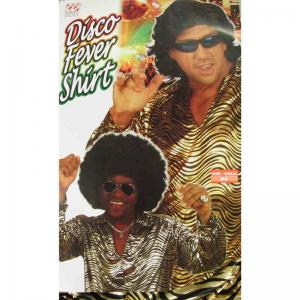 Disco skjorta Guld eller Silver