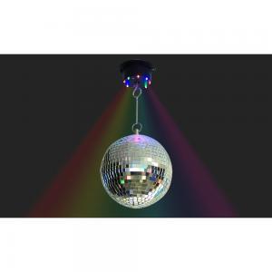 Discokula snurrande med LED 230V
