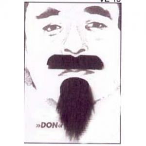 Don Mustasch och skägg