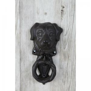Dörrkläpp hund gjutjärn H17cm