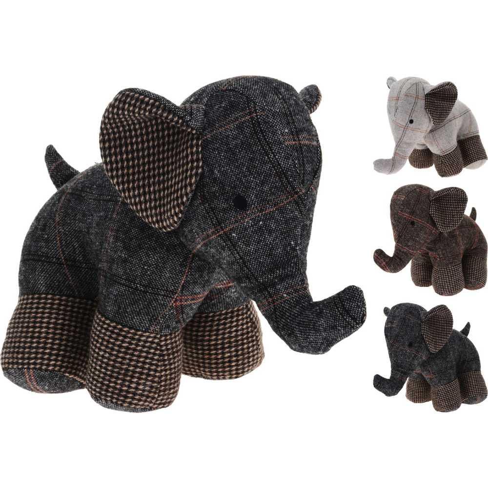 Dörrstopp Elefant 3olika