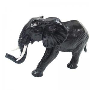 Elefant svart 16cm
