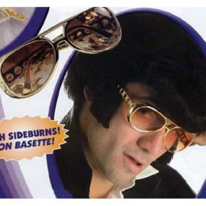 Elvisglasögon inkl polisonger