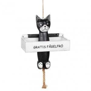 Fågelmatare Katt Gratis frö