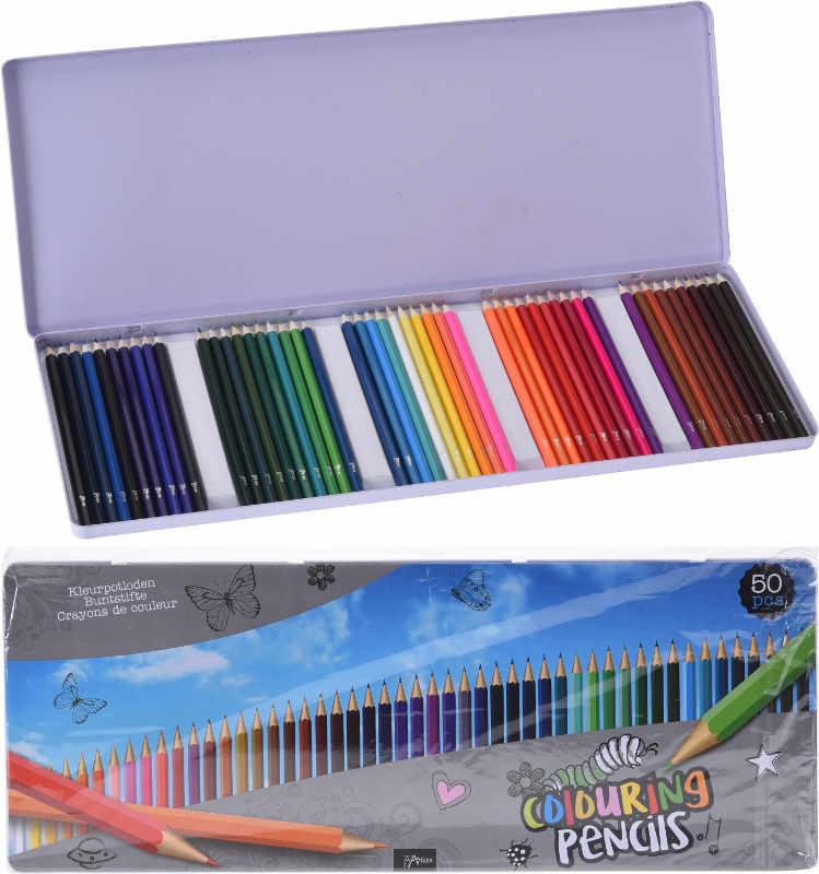 Färgpennor 50-pack