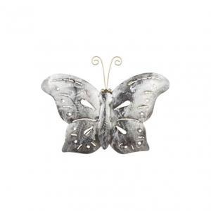 Fjäril i Hamrad Plåt 20x30cm