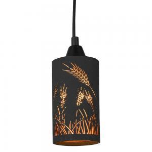 Fönsterlampa Ax Svart-Guld H14xD8cm