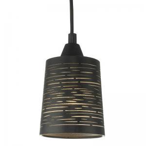 Fönsterlampa Candy Svart H11xD9,5cm