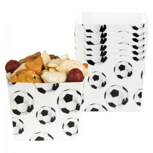 Fotboll snacksskål 6pack