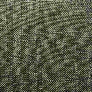 Gardin grovlinne L240cm Grå 2del