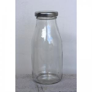 Mjölkflaska i glas 250ml