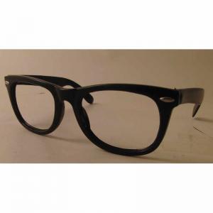 Glasögonbåge svart