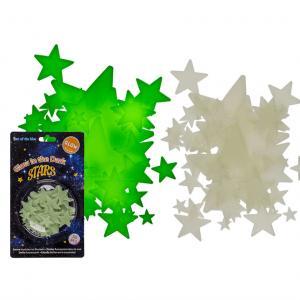 Glow in dark stjärnor 50st