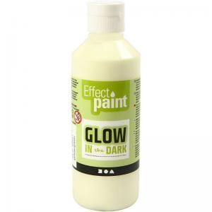 Glow in the dark självlysande färg
