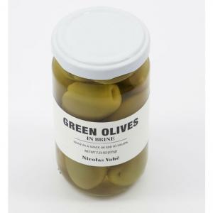 Gröna oliver inlagda 205g