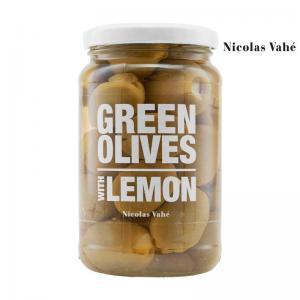 Gröna oliver med citron