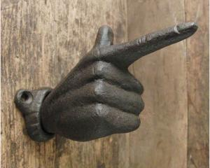 Hand hängare gjutjärn 125mm