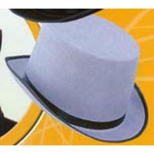Hög hatt Grå