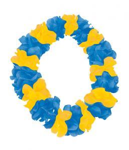 Hawaii krans Gul och Blå