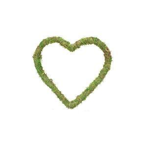 Hjärta mossa D25cm