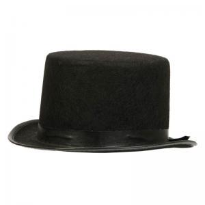 Hög hatt svart för barn
