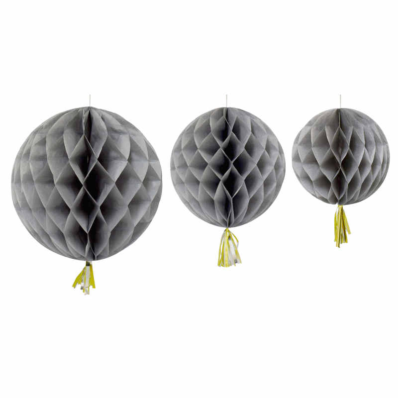Honeycomb 3-pack grå