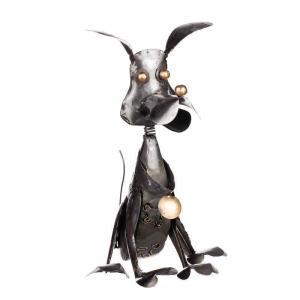 Hund i Hamrad Plåt H30cm