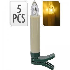 Julgransbelysning extra 5st