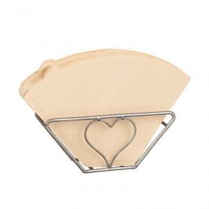 Kaffefilterhållare Råmetall med hjärta