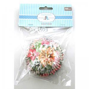 Kakform blommor 50-pack
