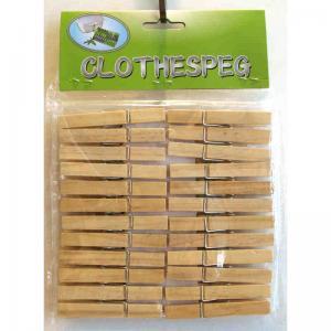 Klädnypor trä 24pack