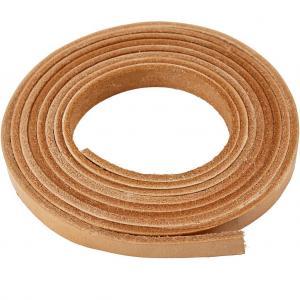Läderband 10x3mm 2meter
