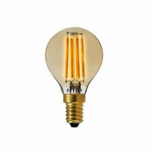 Lampa LED Klot E14 Amber 3,5w