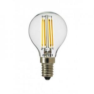 Lampa LED 4,5W E14 klar klot