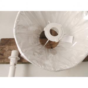 Lampskärm silk/Rund 16x20x15cm