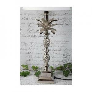 Lampfot Ananas silver H40cm