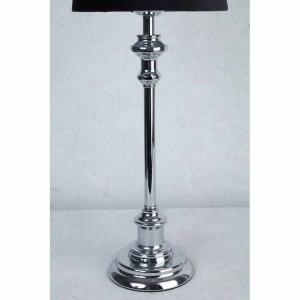 Lampfot krom H43cm