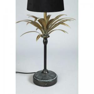 Lampfot Palm Guld / Oxid H65cm