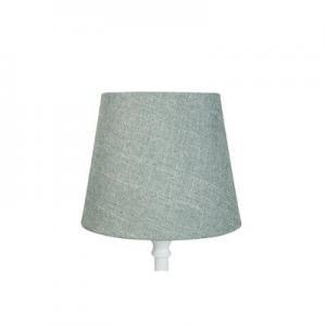 Lampskärm Grön  18x23x18 grovlinne