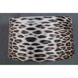Lampskärm stor Leopard