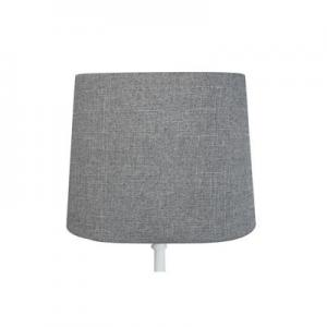 Lampskärm Oval Grå 23x16