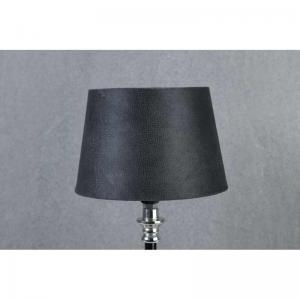 Lampskärm sammet med struktur grå