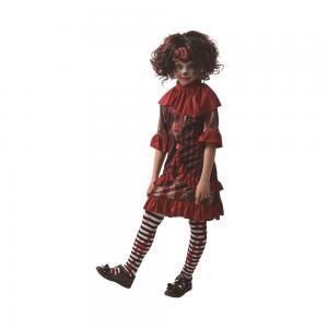 Läskig clowndress för barn
