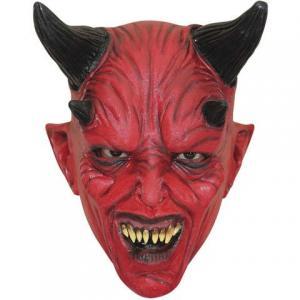 Latexmask Barn djävulen