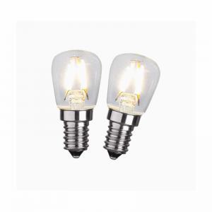 LED päronlampa 2-pack
