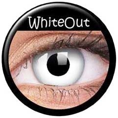 Linser White out  1par ( 1år)