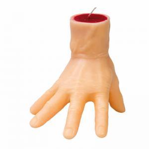 Ljus blodig hand 15,5x15cm