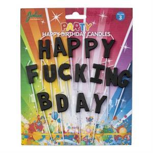 Ljus Happy fucking birthday